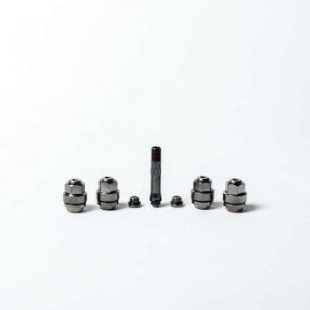 Set valve ascunse negre