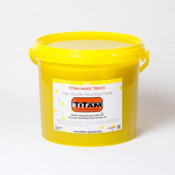 Pastă de montare TITAM Maxx Truck Yellow (galben-transparent)