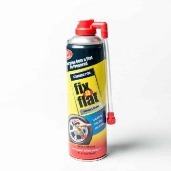 Fix-a-flat aerosol