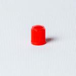 Căpăcel ventil plastic roșu 100 buc