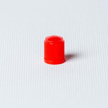 Căpăcel ventil plastic roșu