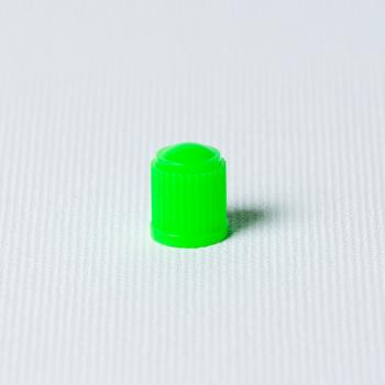 Căpăcel ventil plastic verde 100 buc